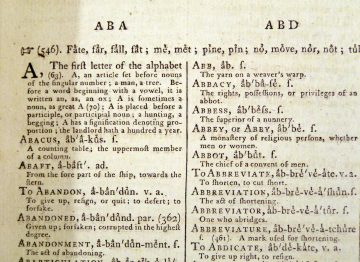 A Critical Pronouncing Dictionary and Expositor of the English Language