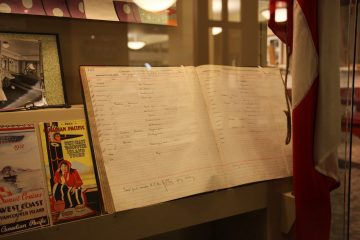 Canadian Pacific NavigationCompany log book