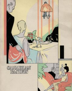 """Menu from the Empress of Russia,"" 1930 from the Chung Collection CC-TX-225-56-7"
