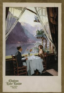 Chateau Lake Louise menu