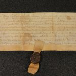 Image of Bulwer family deed