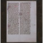 Image of 1 Corinthians sheet
