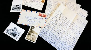 New acquisition of WWII Japanese Canadian letters