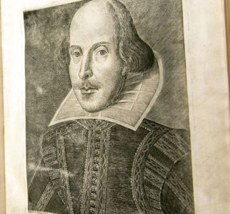 Student project: Shakespeare's second folio