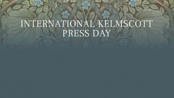 International Kelmscott Press Day