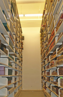 Rare Books and Special Collections vault